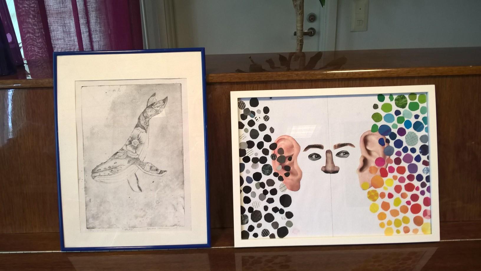 Taidekilpailun kuvataide sarjan kunniamaininta