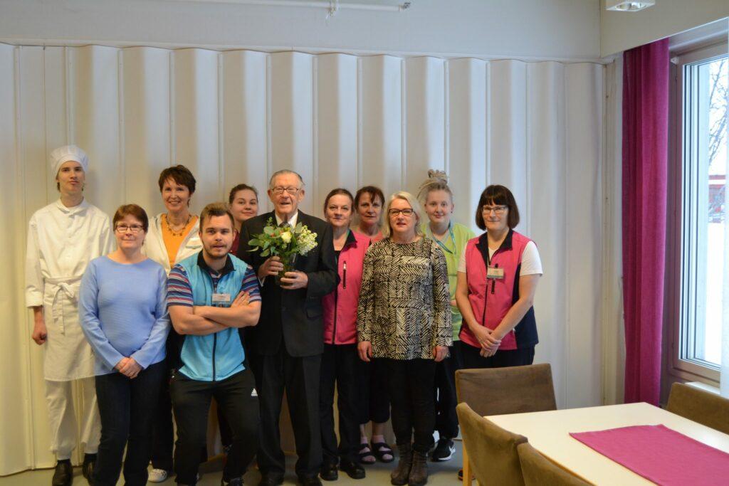 Eino_Miettisen 90 -vuotis syntymäpäivät
