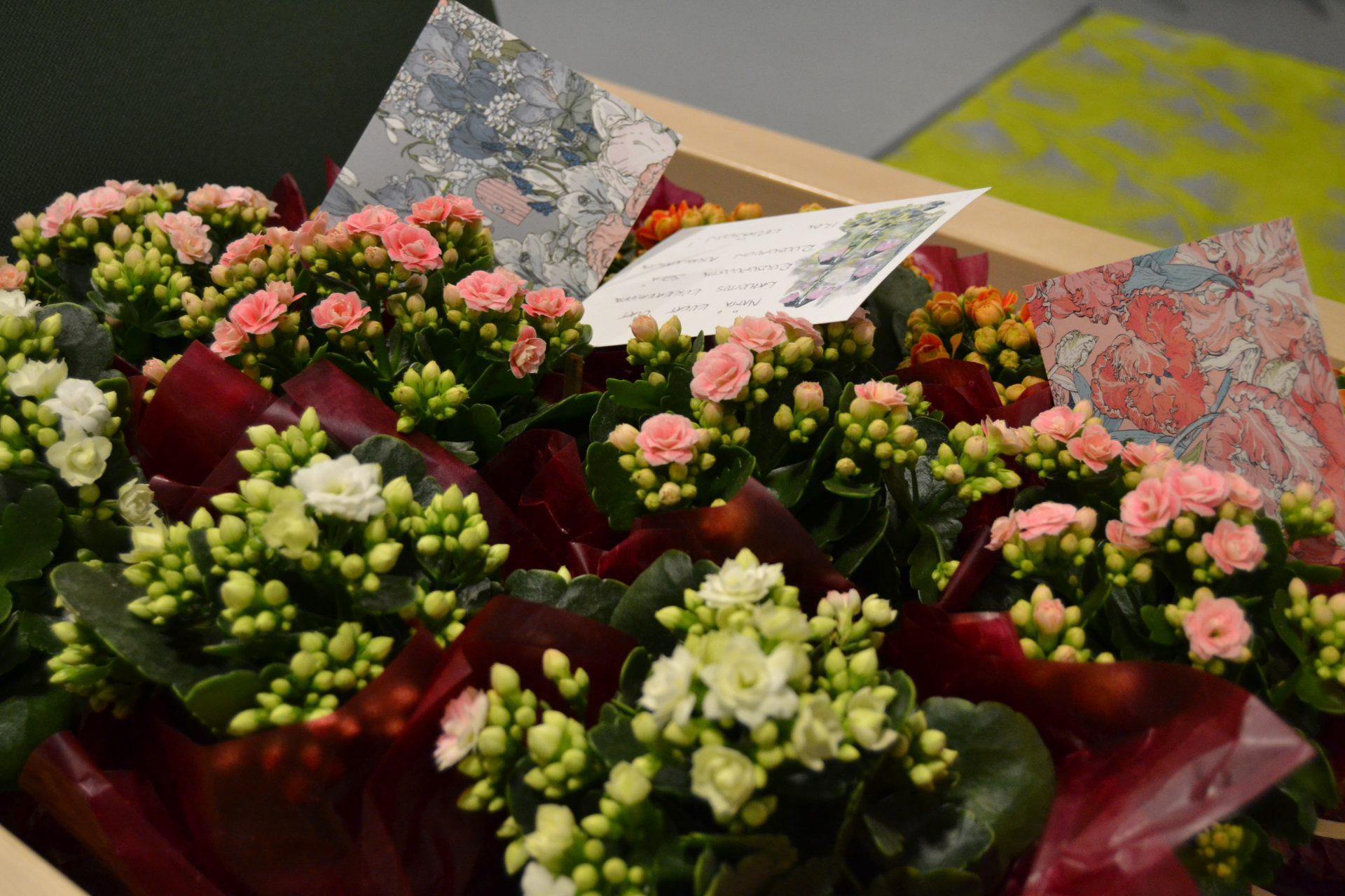 Viitakotiin saapui taas ihania kukkasia!